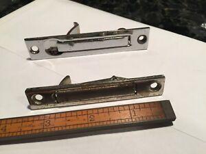 POCKET DOOR EDGE PULL CHROME FINGER PULLS TWO