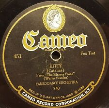 Cameo 451 JOHNNY JOHNSON & HIS ORCH RAGGEDY ANN CAMEO DANCE ORCH KITTY VG+ 78RPM