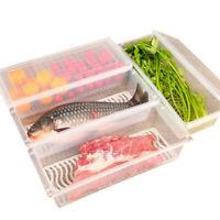 1PC Kitchen Organizer Fridge Storage Rack Holder Cupboard Drawer Space Saver Box