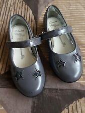 Girls Clarks Shoes Uk 8.5G