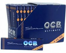 1x Full Box OCB Ultimate Cigarette Rolling Paper King Size + Filter Tips