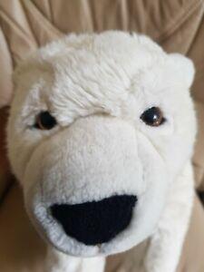 Hamleys White Stuffed Polar Bear