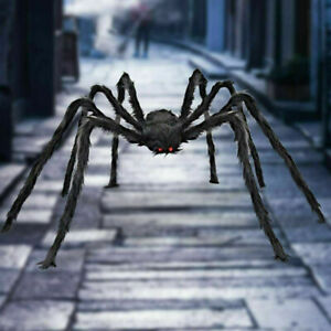 Halloween Haunted House Prop Large Spider Black Giant Spider Home Outdoor Decor