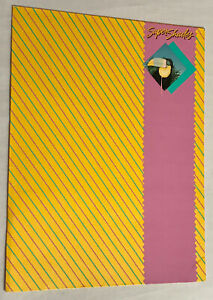Rare 1988 Super Shades Trapper Keeper Mead Portfolio Folder 1980's EUC