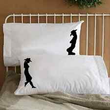 Country Cowboy & Cowgirl Couple Pillowcases Love Pillowcases Anniversary Gift