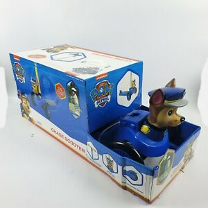 Paw Patrol Chase 3d Scooter with 3 wheels and tilt to turn