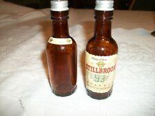 """Stillbrook Whiskey Bottle Salt & Pepper Shakers - 4 1/2"""" Tall"""