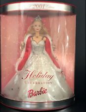 2001 Holiday Celebration Barbie Collector's Edition ~ MINT ~ NIB
