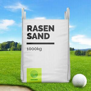 Quarzsand - Rasensand für Golfplatz im praktischen 1000-5000kg BigBag