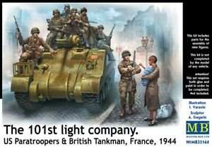 MAS35164 - Masterbox 1:35 - The 101st Light company. US Paratroopers