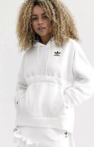 Adidas Originals J KOO x White Fashion Hoodie Women Small