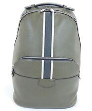 2017 Louis Vuitton Anton Backpack Taiga Leather Green Travel Laptop City Bag 826
