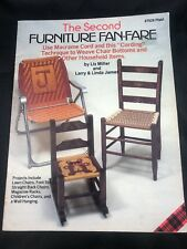 Vintage Plaid Macrame The Second Furniture Fan-Fare #7629 Patterns Booklet Chair