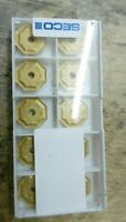 Seco  OFER 070405TN-ME15 T25M Carbide Inserts The listing is for 1 box 10pcs