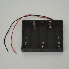 4X AAA Slots DIY Battery Holder Case Box Base 6V Volt PCB Mount With Lead Wire