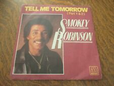 45 tours SMOKEY ROBINSON tell me tomorrow parts 1 & 2