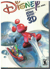 Disney Magic Artist 3D Pc Mac Brand New Cd Rom jewel case windows 95/98 new