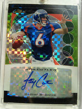 JAY CUTLER 2006 Topps Finest Xfractor Refractor Auto # /25  AUTOGRAPHED  Rookie