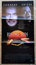 Rising Sun 1993 Daybill Movie Poster Sean Connery Wesley Snipes Vintage