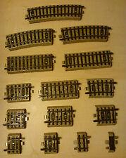 15 x Märklin H0 M-Gleis Konvolut Ausgleichsstücke gerade gebogen guter Zustand