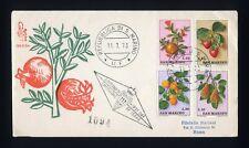 SAN MARINO - 1973 - Frutta su FDC Venetia
