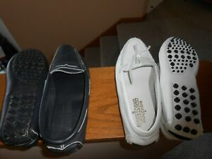 Minnetonka Moccasins Women Loafers Two Pairs!