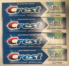 Crest 4 Pack 4 in 1 Fluoride Anticavity Toothpaste 2.4 oz
