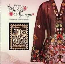 Malaysia 2014 Baba & Nyonya Heritage 22K gold plated premium stamp unusual