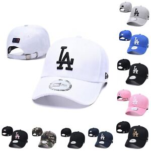 Baseball Cap Adjustable Embroidered LA Los Angeles Latter Sports Hat For Unisex