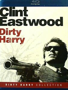 Dirty Harry Collection: Dirty Harry, Blu Ray, Clint Eastwood