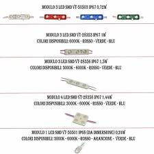 MODULO LED IP67 IP68 3 LED 4 LED V-TAC VTAC VT-50503 VT-28353 VT-28356 VT-50501