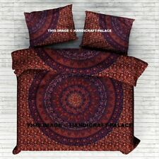 Mandala Queen/King Cotton Bed Quilt/Doona/Duvet Cover Set New Bohemian Set158