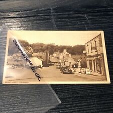 More details for 1950's  car postcard cushendall co antrim garage petrol station globes signs