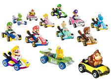 AUSWAHL: Mattel - Hot Wheels Mario Kart 1:64 - Autos Sammel-Figuren Bowser Yoshi