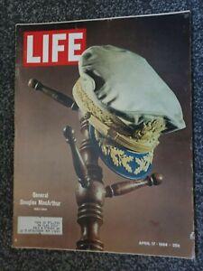 Vintage LIFE Magazine - April 17th 1964 General Douglas MacArthur Memorial Ed