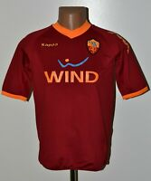 AS ROMA ITALY 2009/2010 HOME FOOTBALL SHIRT JERSEY KAPPA SIZE XL KIDS