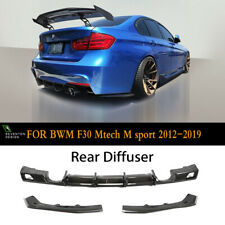 MCT Design Carbon Rear Diffuser for BMW F30 3 series 2012-2019 Mtech Model