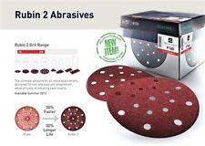 50 Festool Sanding Discs | 90 STF D90/6 P120 RU2/50 | RUBIN 2 Rotex RO | 499081