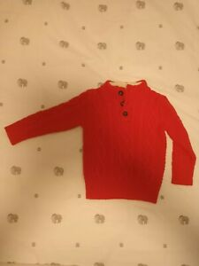 Gap Boys Cable Knit Sweater Jumper 2-3 Years