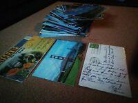 Postcard Lot HUGE 160+ California Postcards Vintage 1900s RARE POSTMARKED