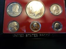 VERY RARE 1976 PROOF SET WITH ERROR COIN.