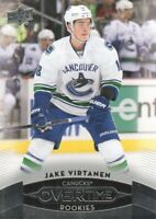 2015-16 Upper Deck Overtime Hockey #176 Jake Virtanen RC Vancouver Canucks
