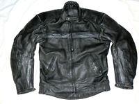 Louis Herren Bikerjacke Motorradjacke Lederjacke Mens Leatherjacket Gr 52 L