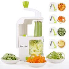 Espiralizador De Vegetales Para Preparar Fideos De Verdura Dieta Paleo Atkins