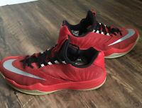 Mens Nike Zoom Shoes Size 10 James Harden Kobe Guys Red Rare Classic NBA