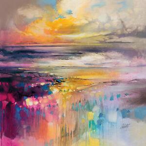 Scott Naismith - Liquid Reflections - Canvas Print Wall Art 3 sizes available