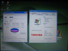 New listing Toshiba Satellite Laptop L15-S104 1.3Ghz 750Mbram 40Gbhd WinXp Bad Batt - Works!