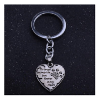 Pet Memorial Keyring Dog Cat No Longer By My Side Forever In My Heart Keepsake