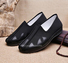 Kung Fu Martial Arts Tai Chi Shaolin M 00004000 onk loafers shoes slipper Footwear Men's