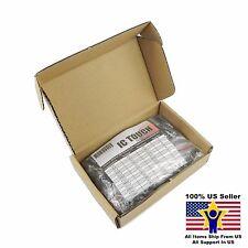 12value 300pcs 25V Electrolytic Capacitor Assortment Box Kit US Seller KITB0009